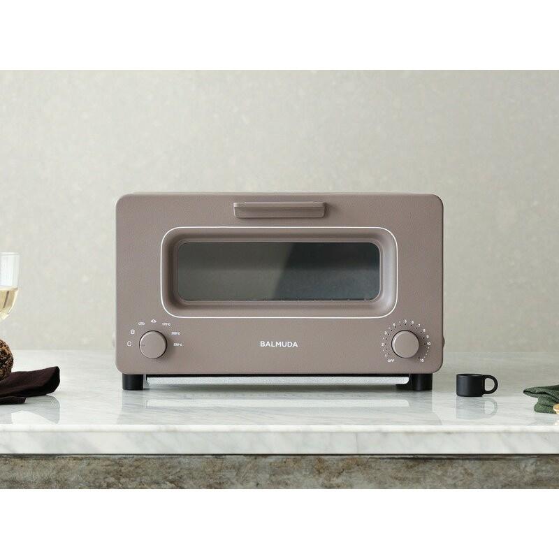 바루 뮤 다 스팀 오븐 토스터 BALMUDA The Toaster K01E-CW쇼콜라 초콜릿 갈색, 단일상품