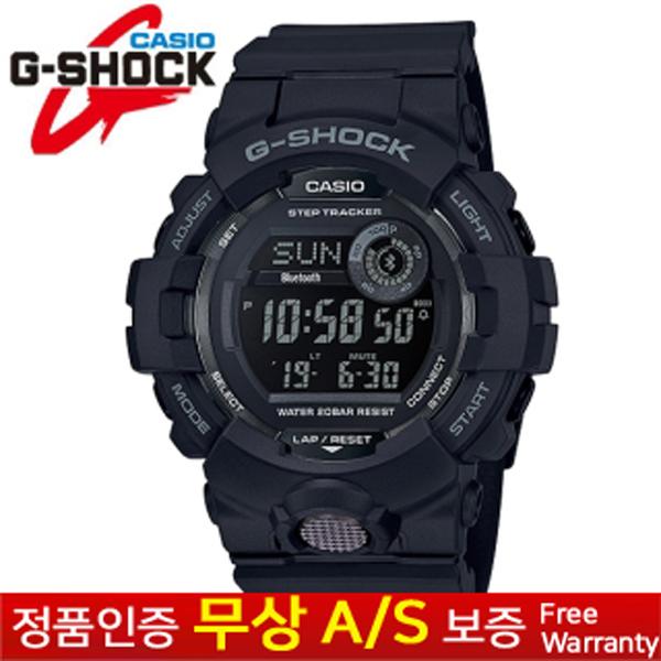 [G-Shock 지샥] [무상AS 정품] 남성남자군인군대 스포츠아웃도어 듀얼타임 전자손목시계 GBD-800-1B