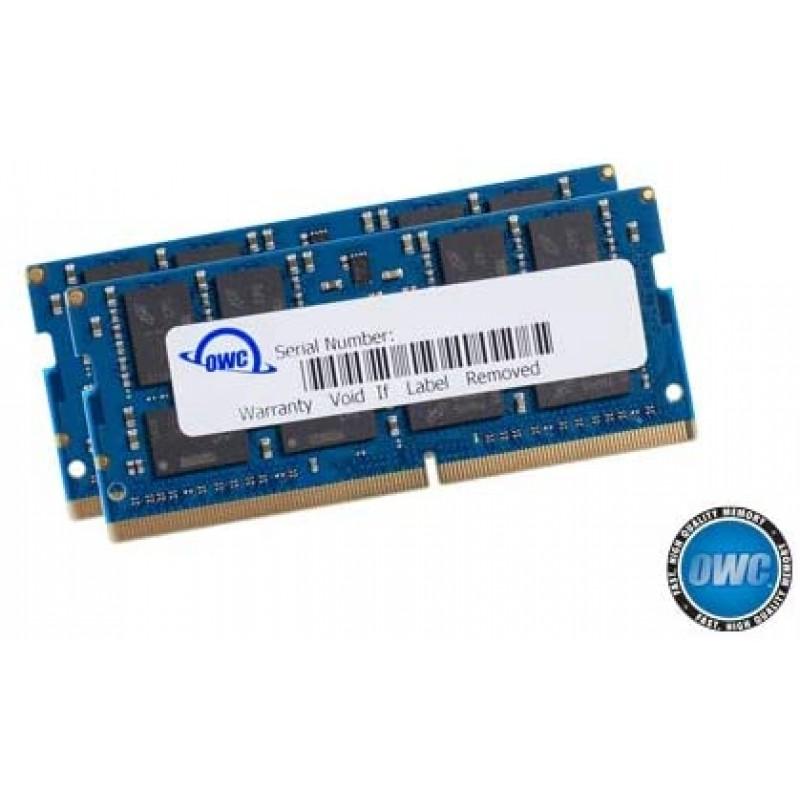 OWC 64GB (2 x 32GB) 2666MHz DDR4 PC4-21300 SO-DIMM 260 핀 메모리 업그레이드 (OWC2666DDR4S64P) 2019-2020 27 인치 iMac, 단일옵션