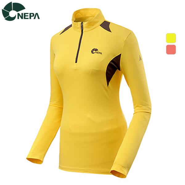 NEPA 네파 여성 비바체 집업티셔츠 7A65401