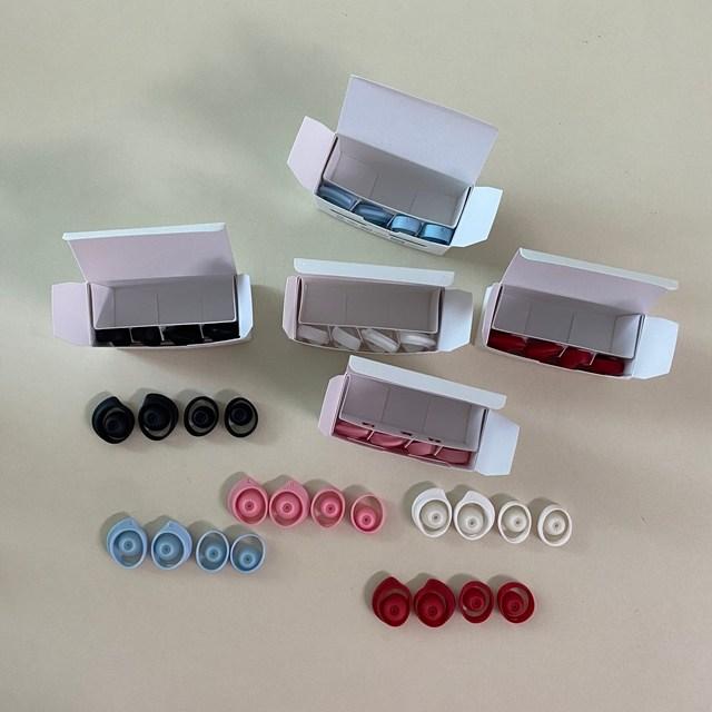 삼성 갤럭시 버즈 플러스 R175 정품 이어팁 이어폰팁 이어캡 메모리팁 eartips 블루투스이어폰, 블루 이어팁, 버즈플러스 이어팁 이어캡