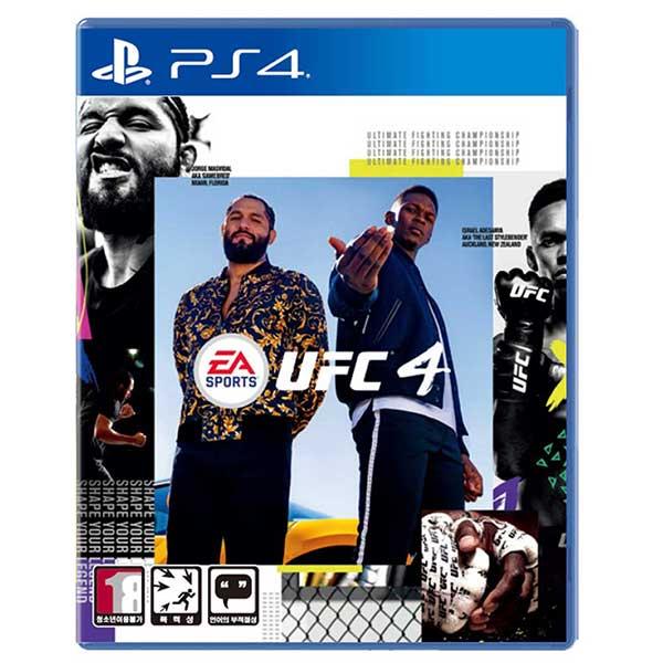 PS4 UFC 4 한글판, 단일상품