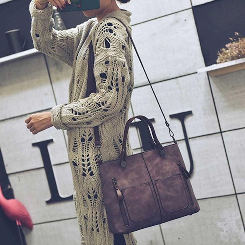 여성 빅숄더 토트백 크로스 여행 캐주얼 봄코디 가방 봄여름가을겨울가방