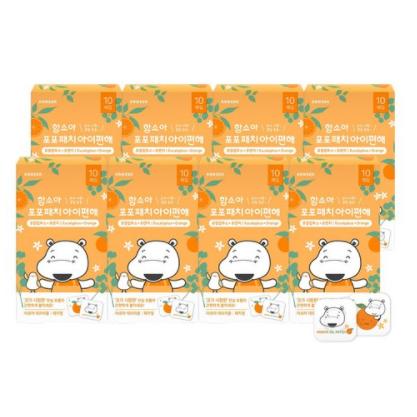 닥터아토비 아이편해 함소아 포포패치, 유칼립투스+오렌지, 16개