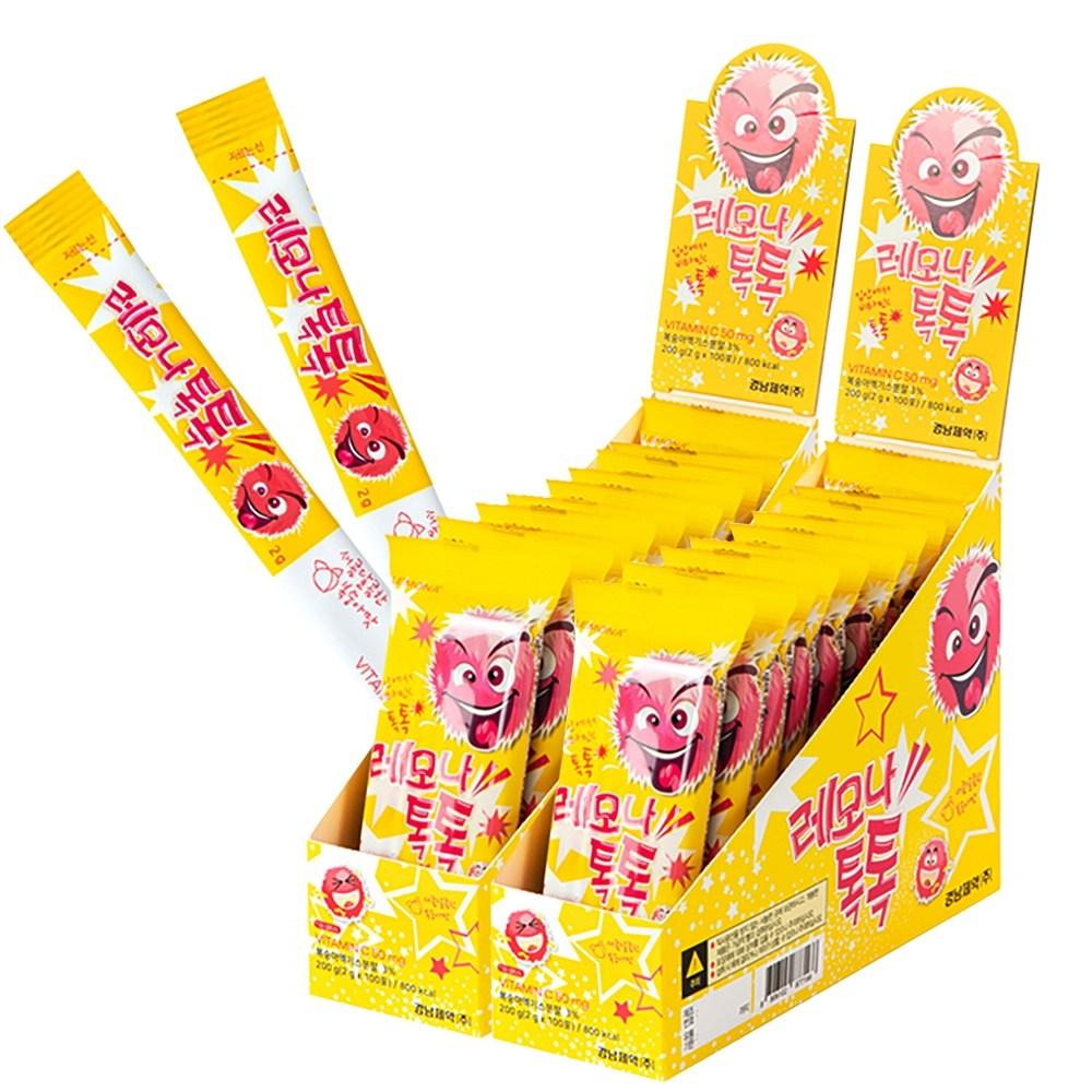 레모나 [본사직영] 레모나톡톡 2박스(+쇼핑백 증정), 200개, 2g