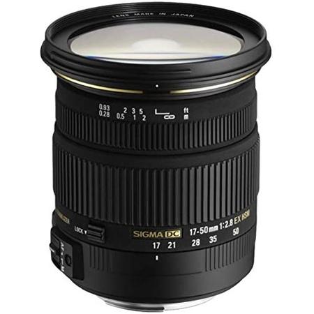 해외1465541 Sigma 17-50mm f2.8 Ex Dc Hsm 렌즈 for Pentax DSLR 카메라, 상세 설명 참조0