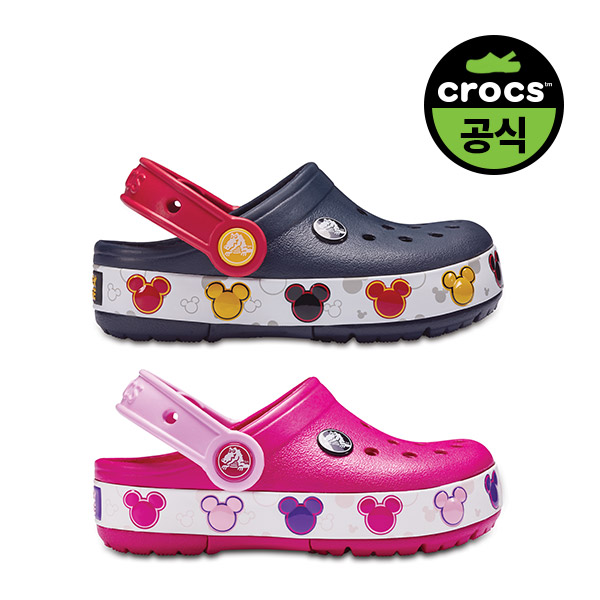 크록스(CROCS) 크록스 키즈 CROCBAND MICKEY FNLB LIGHTS K 2종 택1 (20SKCL204994)
