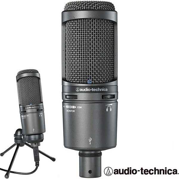Audio-Technica AT2020 USB+ 콘덴서 USB 마이크