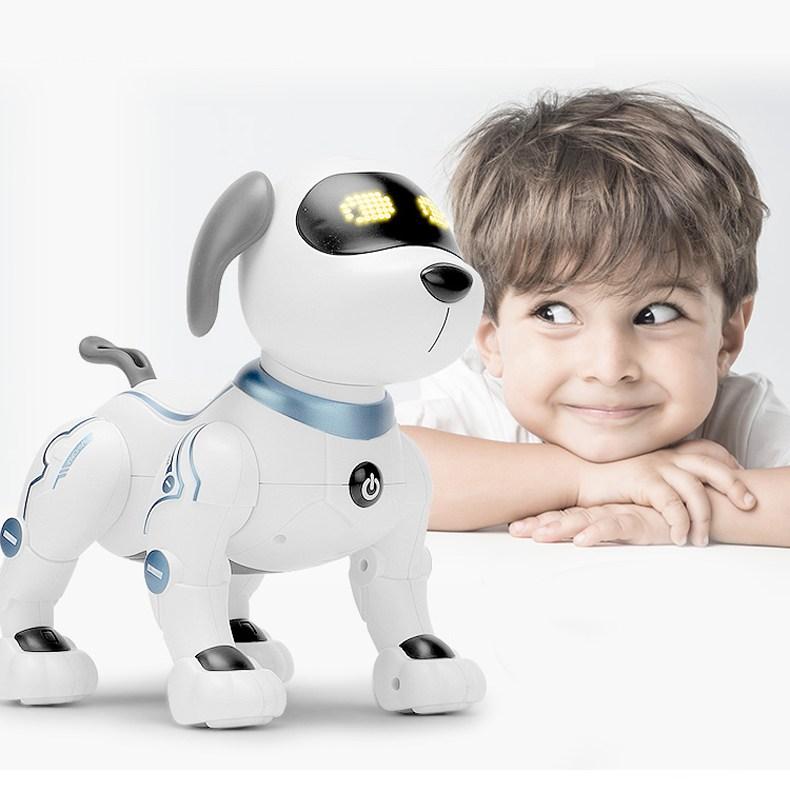 RC로봇 춤추는 강아지 스턴트강아지 강아지로봇, 표준 충전식배터리
