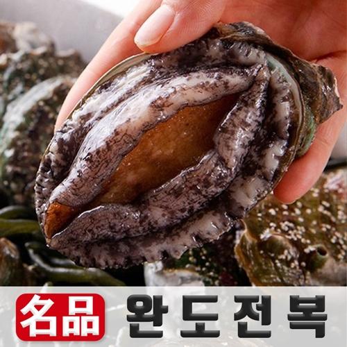 산소포장 완도 활 전복 양식장 산지직송, 500g (소) 8-9미