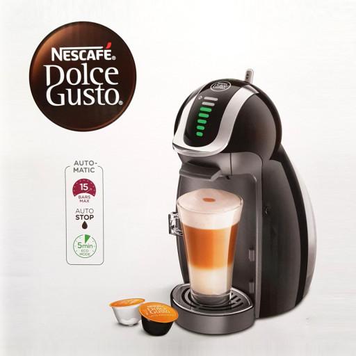 [네스카페] 2020년형 New 돌체구스토 커피머신 터치한번으로 30여 가지 다양한 커피를 만나다, 블랙