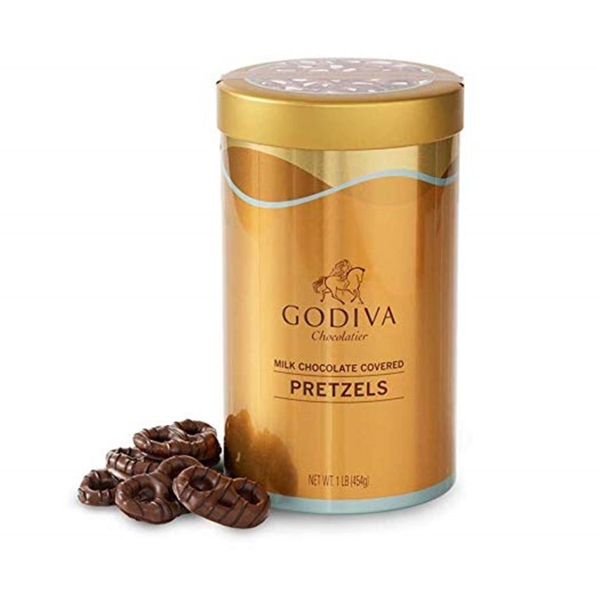 GODIVA 고디바 프레즐 밀크 초콜렛 커버드 454g, 단일상품