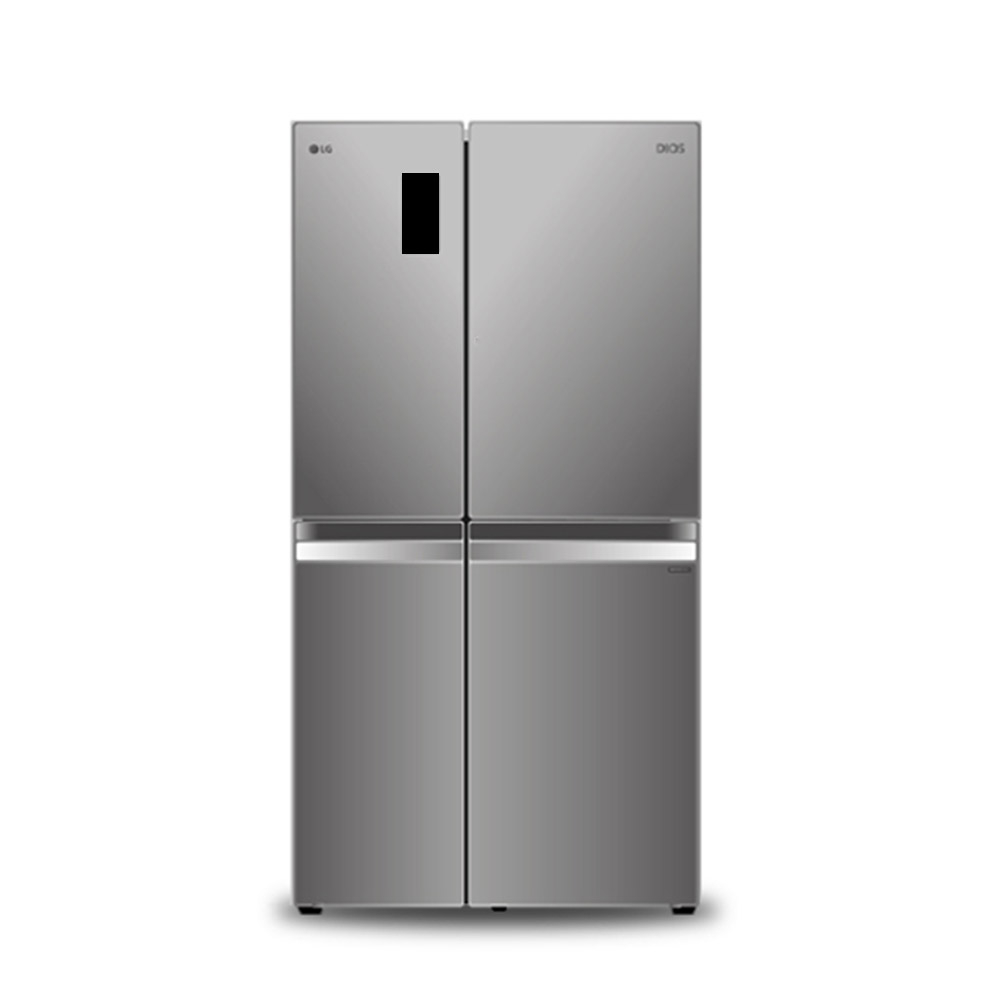 LG전자 트윈스 디오스 양문형냉장고 S831S32 821L