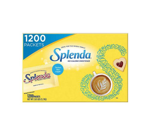 Splenda 스플렌다 스위트너 제로 칼로리 설탕대용 1200패킷