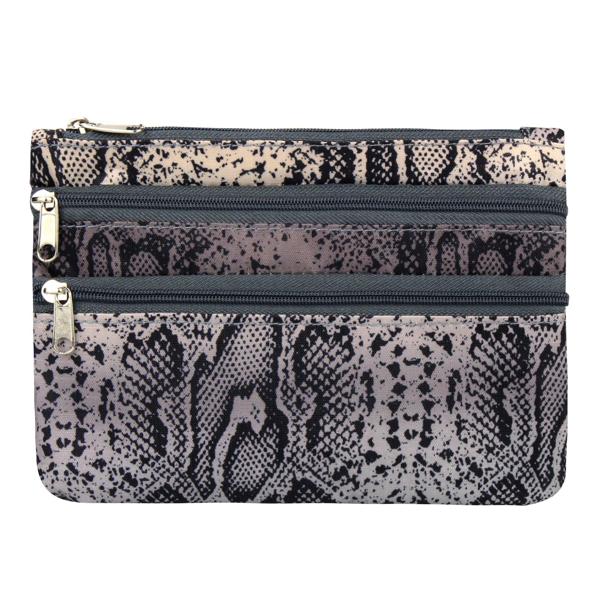 zodaca 여성용 휴대용 지퍼클로저 지갑 지갑 가방 카드지갑