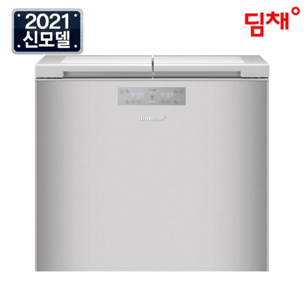 [딤채] (공식) 21년형 뚜껑형 김치냉장고 221리터 EDL22EFWUSS, 상세 설명 참조