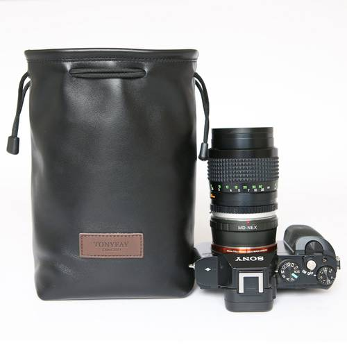 소니 A7m2 마이크로 싱글 카메라 가방 A7m3 양피 보호 가방 A9 간단한 카메라, 상세내용참조