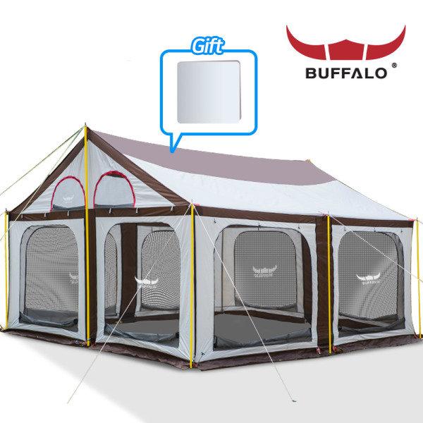 [버팔로] 올뉴 타프스크린 하우스/초대형/내수압3000mm, 모델명:버팔로 올뉴 타프스크린 하우스3000+라이너시트/타프 하우스, 상세 설명 참조
