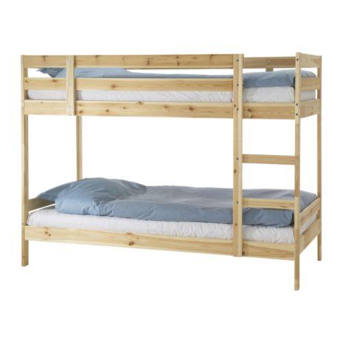 이케아 뮈달 2층 침대 프레임 소나무 003.687.72, 단일상품