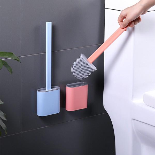 변기솔 변기청소 실리콘 브러쉬/ 화장실청소도구 소프트, 민트