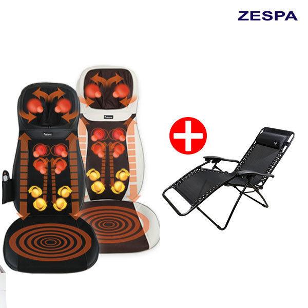 [제스파] 두드림 기능 의자형 등안마기 + 인클라우드 의자세트/안마의자 2종택1, 선택:애니바디의자세트(블랙)-ZP942NCH-