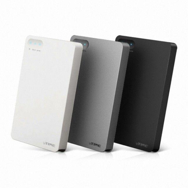 ksw8890 ipTIME HDD3125 PLUS 2TB WD 정품 HDD dn105 외장하드, 화이트