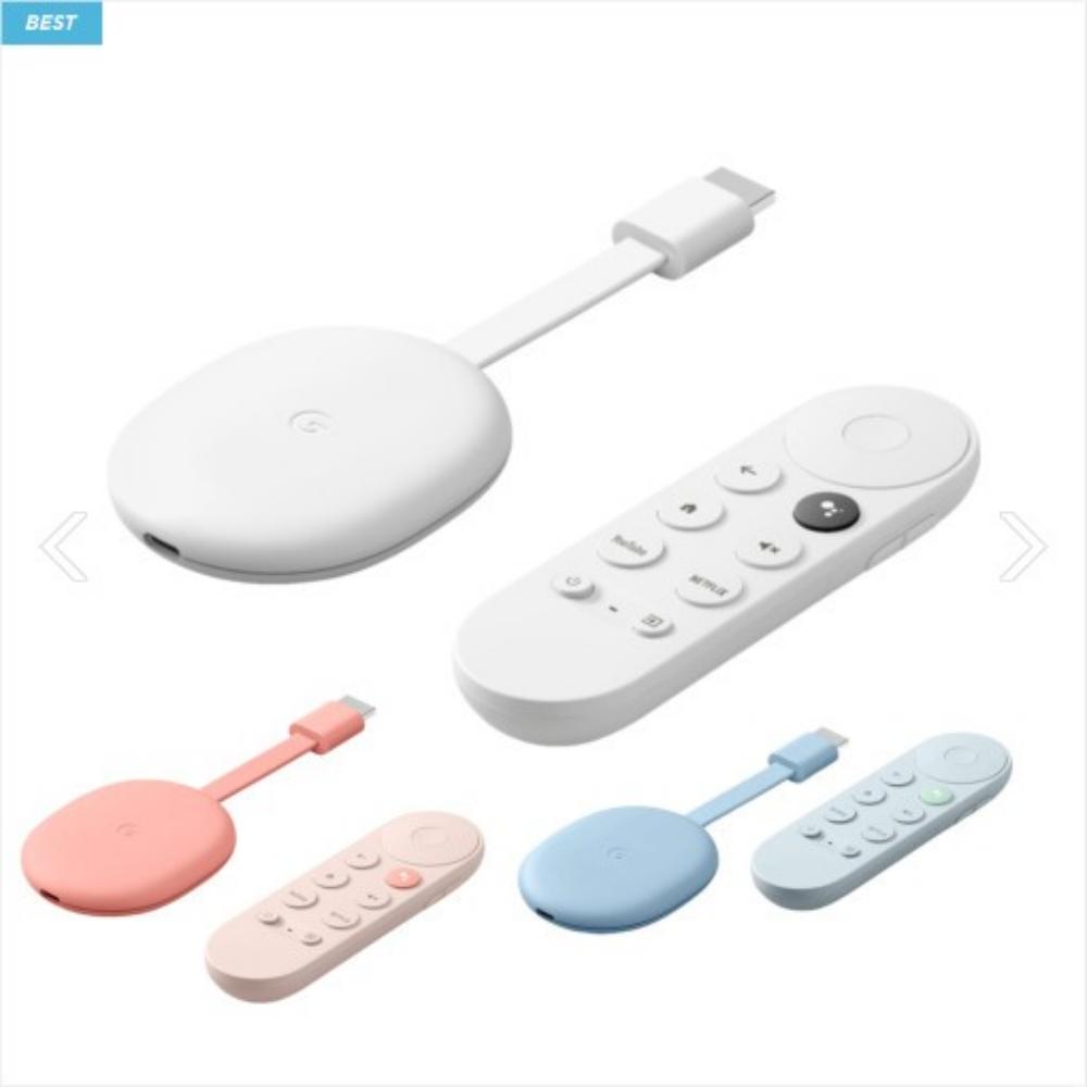 구글 크롬캐스트 4K 구글 크롬케스트 구글 TV, 화이트
