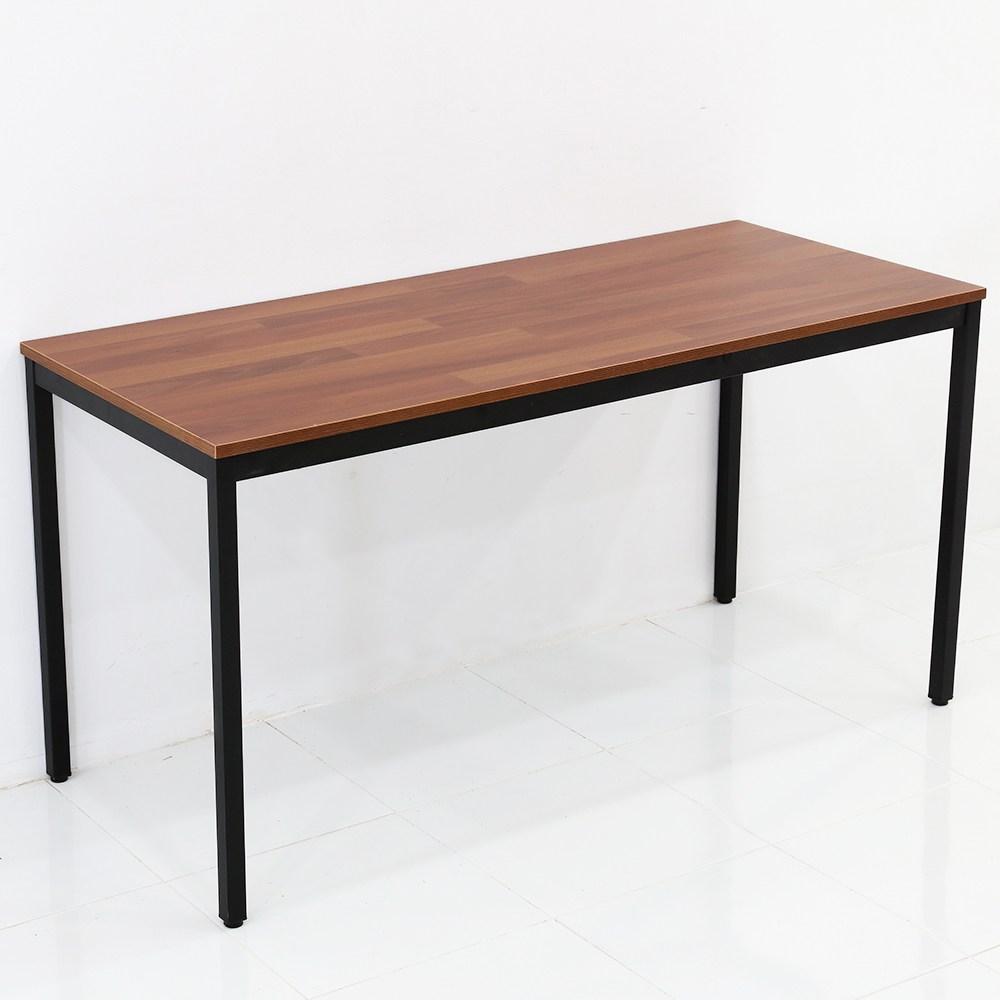THEJOA 모던테이블 카페 테이블 업소용 입식 식탁 카페/업소용/식탁/컴퓨터책상, 1400 멀바우