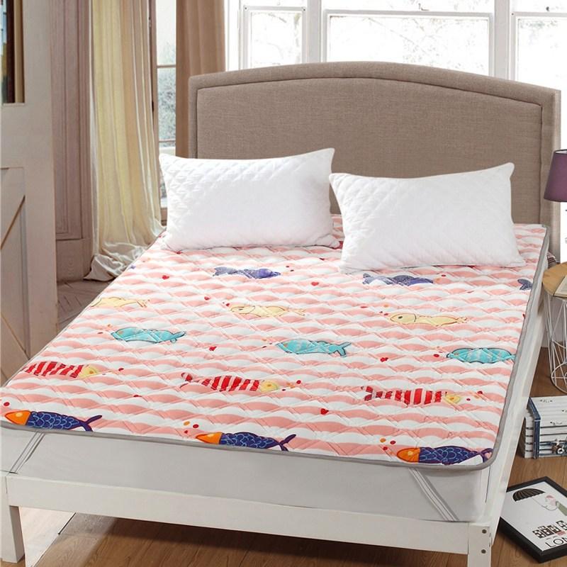 토퍼 템퍼 매트리스 침구 기타 겨울 쿠션 접이식 침대 기모 융털 매트, AQ_1.0 x 2.0m