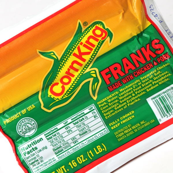 콘킹 후랑크 저염 소시지 (454g) 부대찌개, 단품