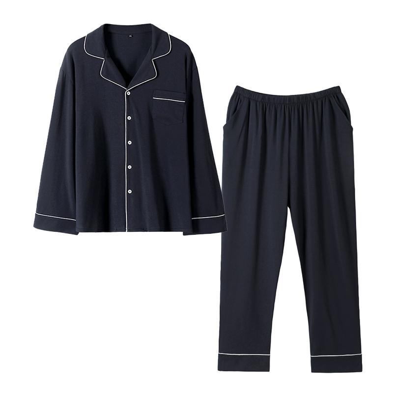 고급 파자마 가족잠옷 실내복 신혼부부 커플잠옷 실크 순면 빅사이즈 짱구 일본인 체크무늬