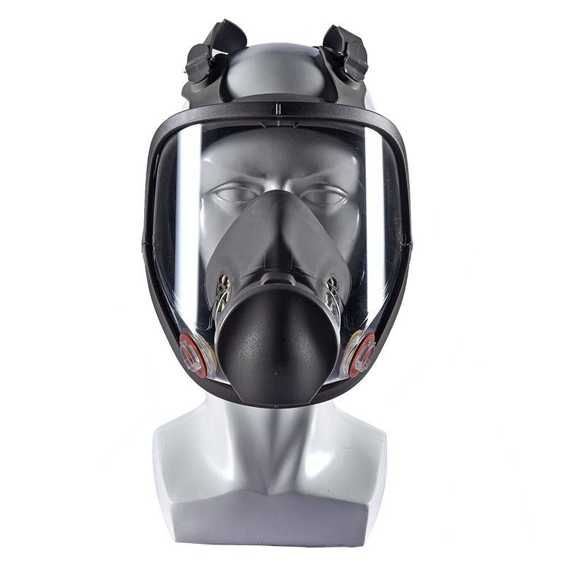 방독면 화학 가스 스프레이 페인트 전용 입과 코 전체, 풀 마스크 바디 1 개