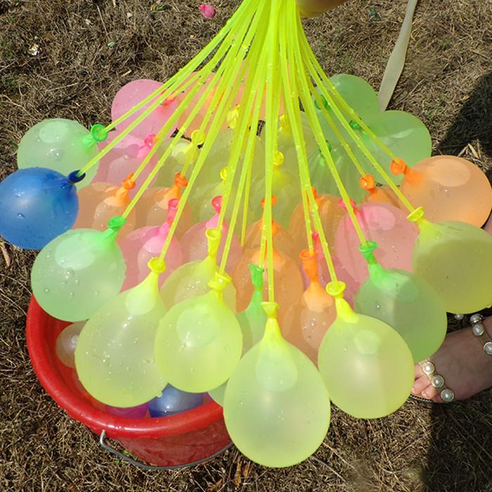 파티공구 고급 물풍선 제조기 111p, 혼합색상, 10세트 (POP 5450191419)