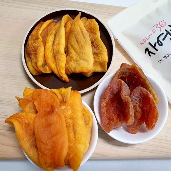 [K쇼핑]충북 영동 곶감말랭이 2팩+대봉감말랭이 2팩, 단일상품