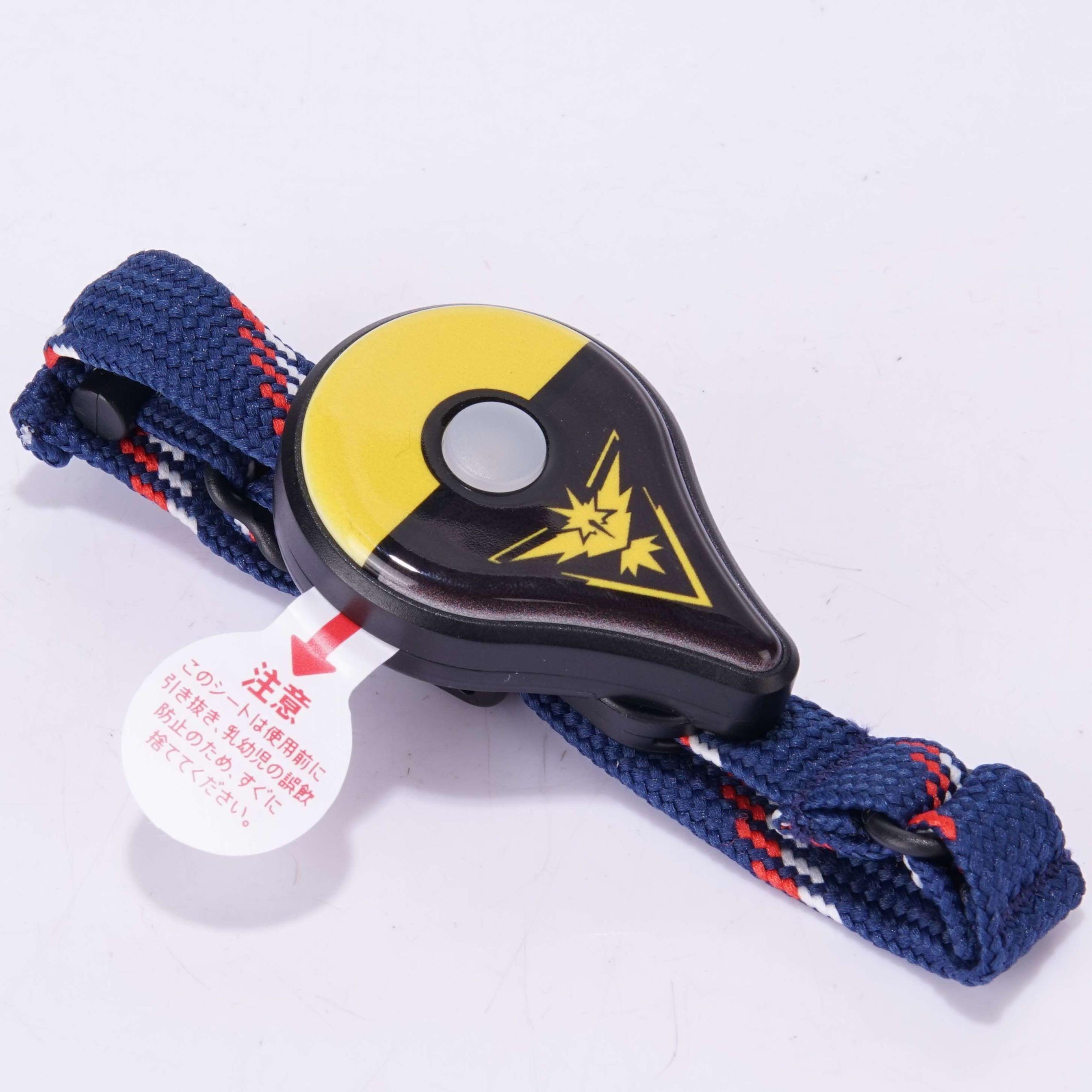 포켓몬고 플러스 포고플 포켓몬GO Plus 자동 개조버전 모바일 게임 액세서리, 색상, 검정색과 노란색 자동