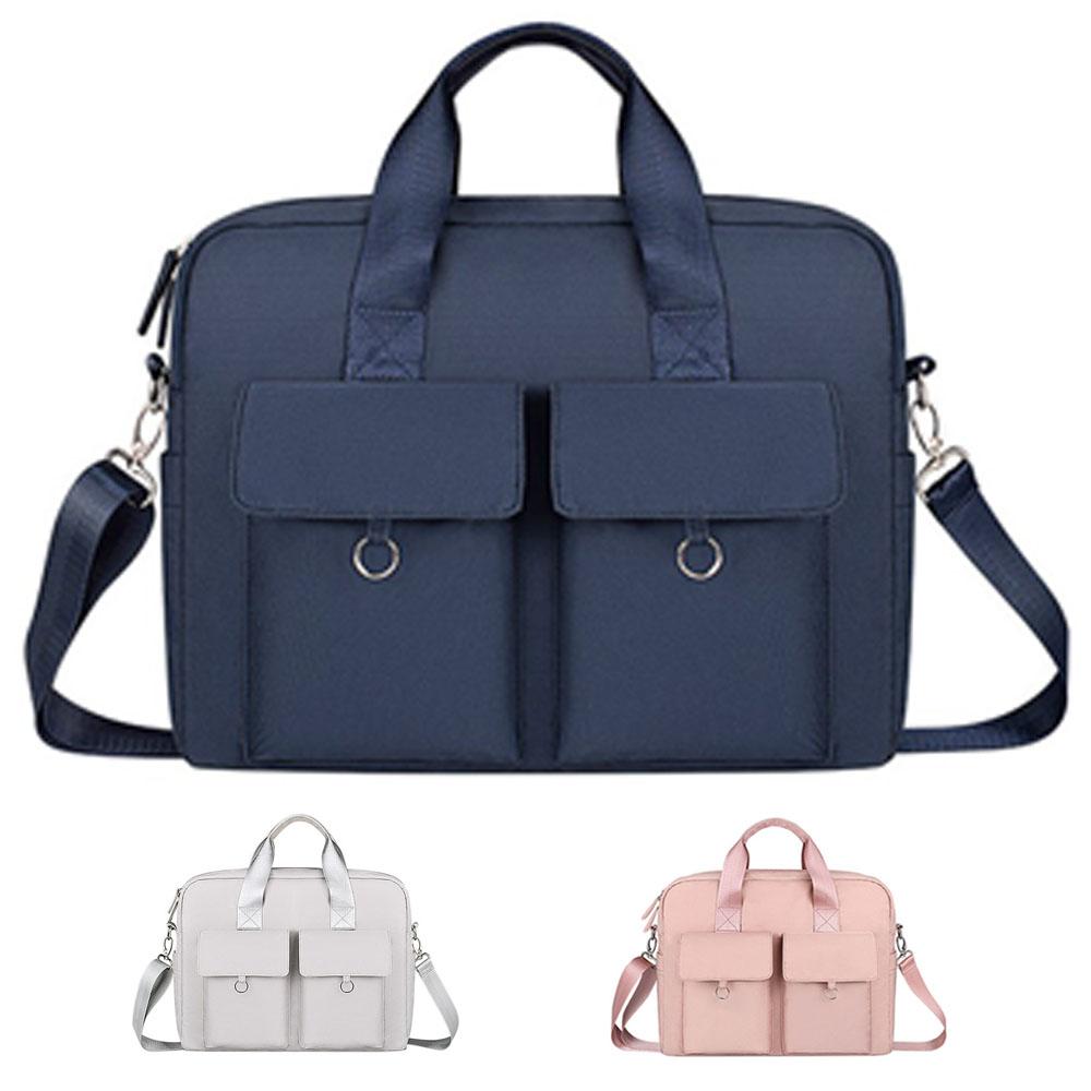 다올 2포켓 대용량 노트북가방 17인치게이밍노트북 학생 여행 가방, 네이비