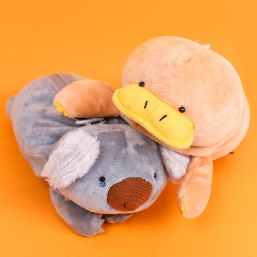 갓샵 꿱꿱뀨뀨 오리너구리 코알라 동물 필통 봉제 캐릭터 파우치 여사친 친구 생일 선물 고등학생 대학생 핵 인싸템