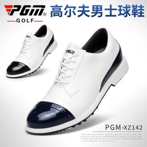 타이거우즈골프화 - 타이거우즈 조던 발볼넓은 골프화 PGM 남 브록 남성화 방수 PU 신발