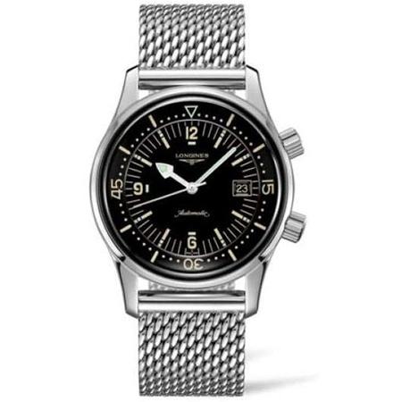 Longines Legend Diver Automatic Mens Watch L3.774.4.50.6 PROD80005637