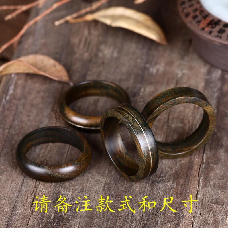 자단 반지 자단 나무 반지