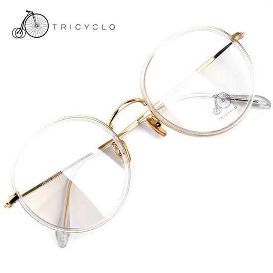 트리시클로 헤리티지 명품 뿔테 투명 안경테 ACCORD-11 52