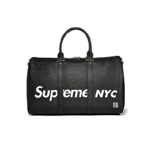 슈프림가방 슈프림 NYC의 여행용 가방 여성 대용량 수화물 가방 헬스 여성 미