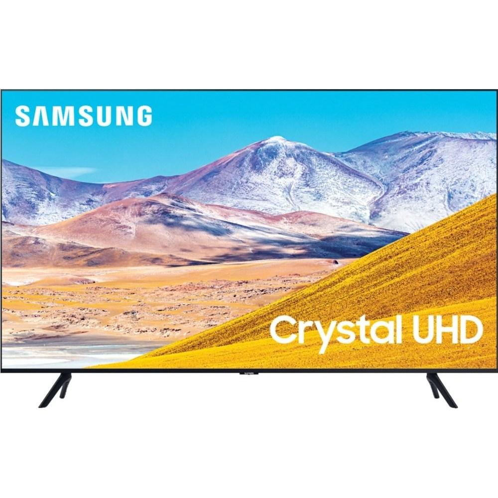 삼성전자 2020년형 LED 4K UHD 스마트 타이젠 TV 65인치 클래스 8 시리즈 UN65TU8000FXZA, 스탠드