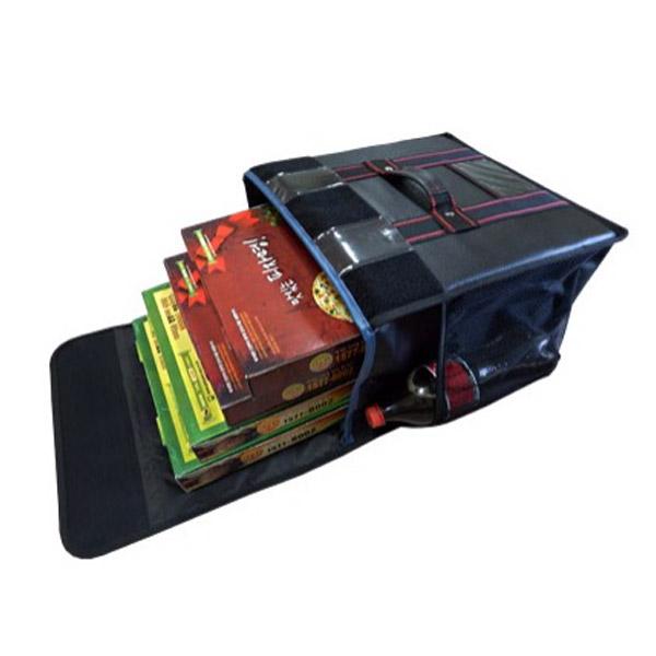 대성ENG 피자가방 4~5판 고급형검정 내부보강 배달가방, 검정색