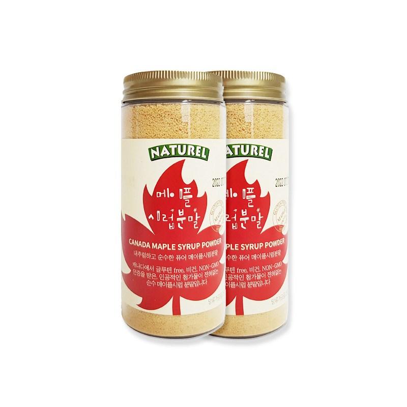 나뚜렐 맛있는 메이플분말 달고나커피, 2통, 280g