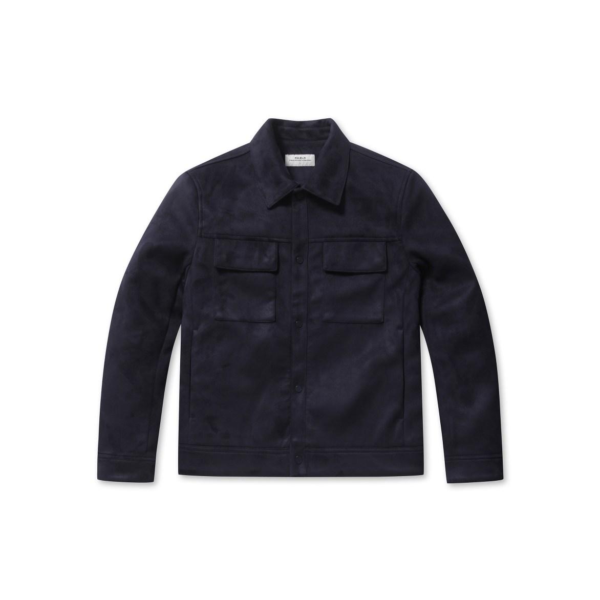 폴햄 뉴코아 부천 남성 봄 가을 깔끔하게 입는 스웨이드 트러커 자켓