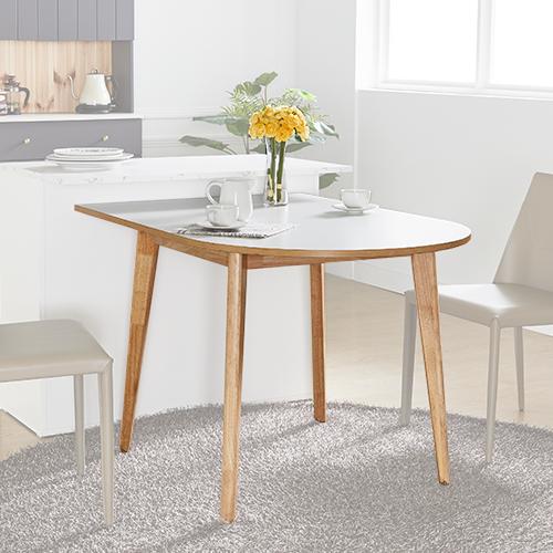 아네마름 루나 반타원 테이블 반타원 식탁 주방 테이블