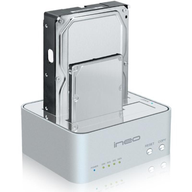 USB3.0 2Bay SSD/HDD 클론 도킹 스테이션 하드미포함