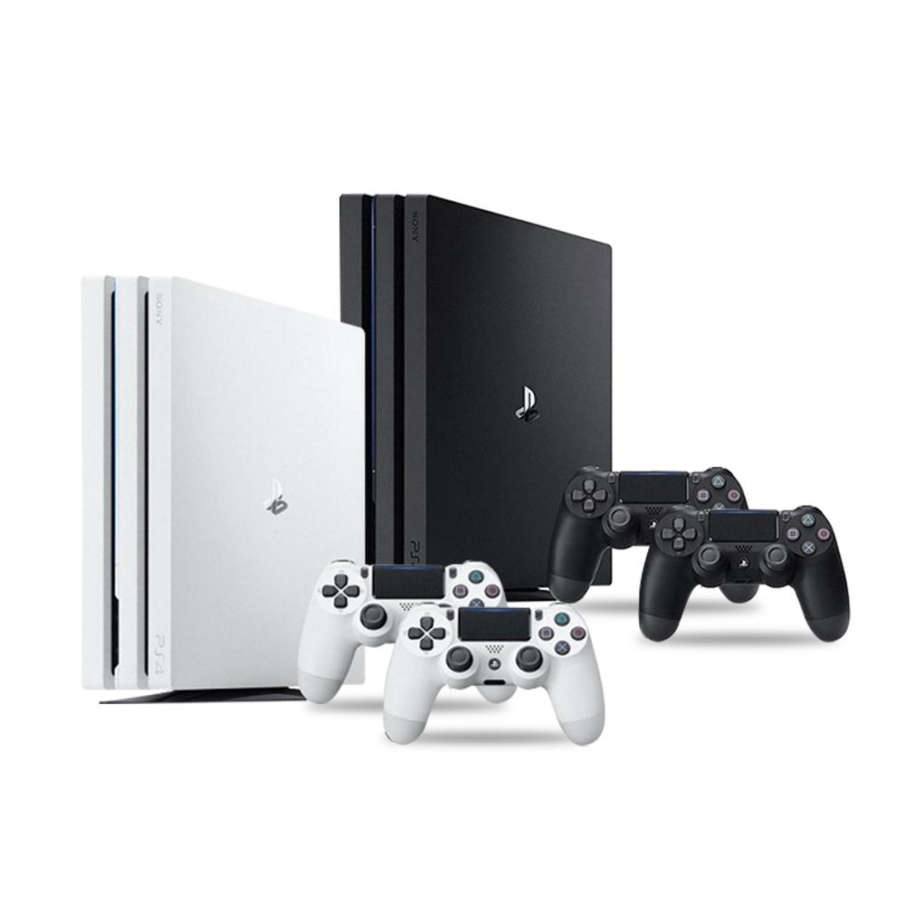 플레이스테이션 (U) PS4 프로 7218 1TB (CUH-7218BB01) 듀얼쇼크 추가셋, PS4 pro 듀얼쇼크 추가셋-화이트