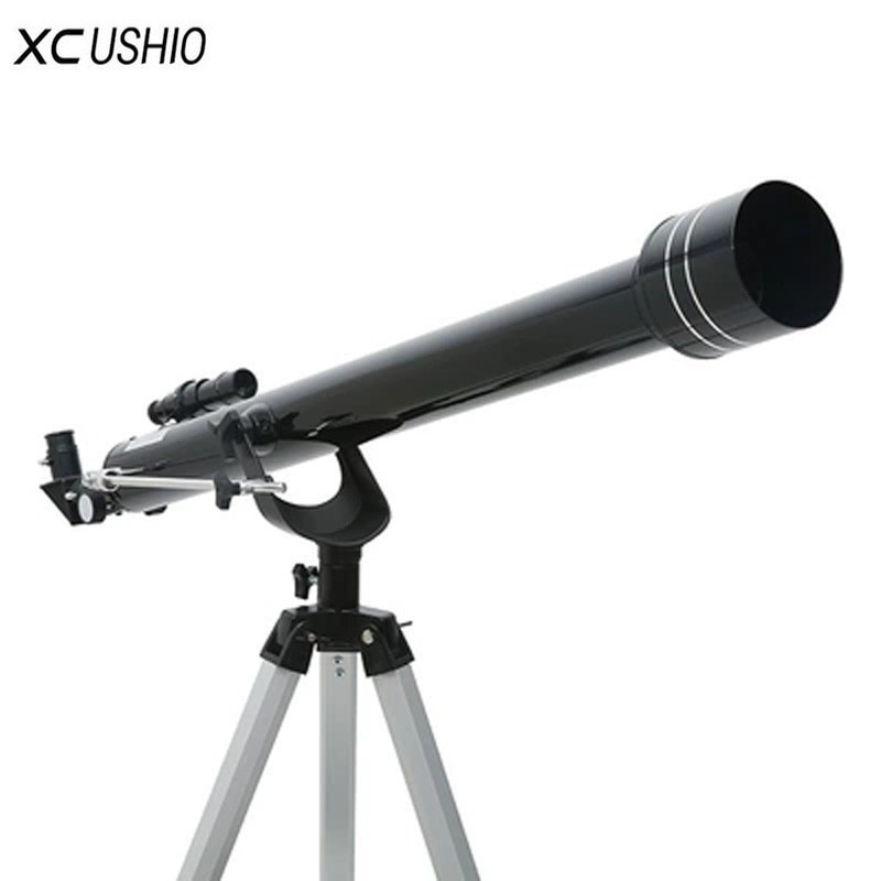 고배율망원경 코스트코 굴절식 입문용 천체망원경 삼각대가있는 품질의 f90060 줌, 검정 또는 은색, 협력사